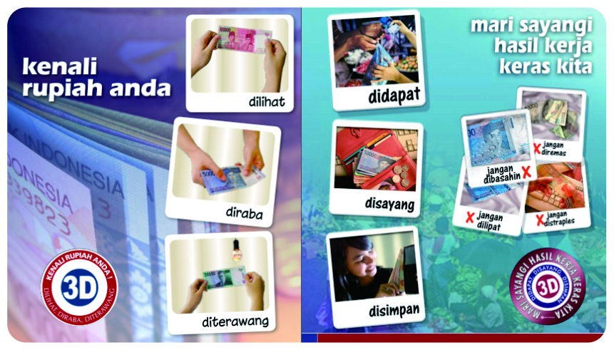 Banner 3D Bank Indonesia