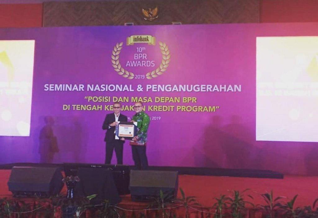Penganugerahan 10th Infobank Awards 2019 - BPR SUBANG