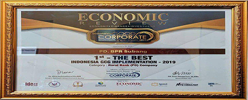Piagam-1st-The-Best-Indonesian-GCG-Implementation-2019---Indonesia-Good-Corporate-Governance-Award-2019---BPR-SUBANG